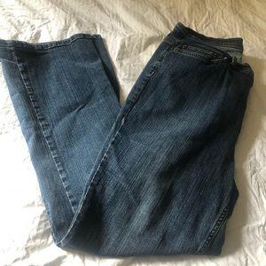 Denim & Co. denim bootcut jeans nice size 14 comfy